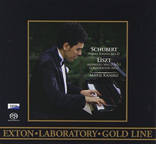 <EXTON Laboratory Gold Line>シューベルト:ピアノ・ソナタ第21番、リスト:メフィスト・ワルツ第1番、コンソレーション第3番