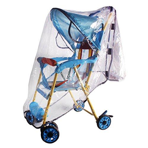 Bébé imperméable Rain Cover Fit plus Parapluie Poussettes TCYZ-01