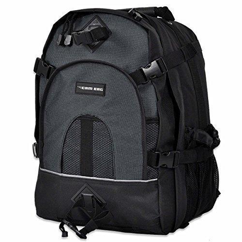 Kamerarucksack CAMBAG Fotorucksack D-SLR ( Laptop ) Rucksack Fototrolley Kamera Trolley Kameratasche Schwarz - Auswahl - M-XL (Dayton - Backpack XL)