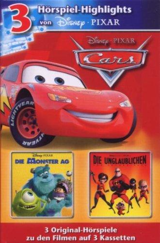 Disney 3 Mc Pixar - Box [MC] [Musikkassette]