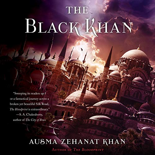 The Black Khan audiobook cover art