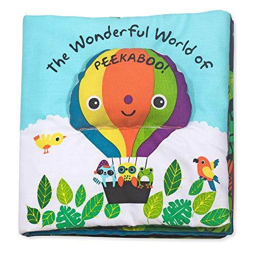 Livre d'Activités Pour Enfants, Multi Texture Peekaboo