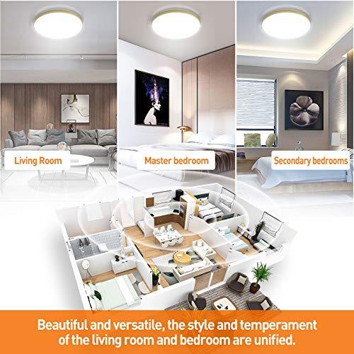 LKESBO Iluminación de techo de interior