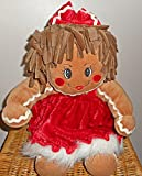 Dandee Collector's Choice Christmas Sparkle Gingerbread Girl Plush Doll 15'