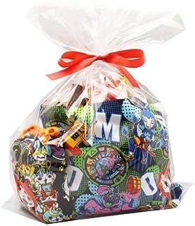 おかしのマーチ 妖怪ウォッチレッスンバッグ&巾着入りお菓子(17コ)・おもちゃ ラッピングセット