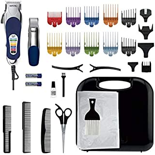 Wahl Colour Pro Chrome Combo: Corded Hair Clipper and Hair Trimmer