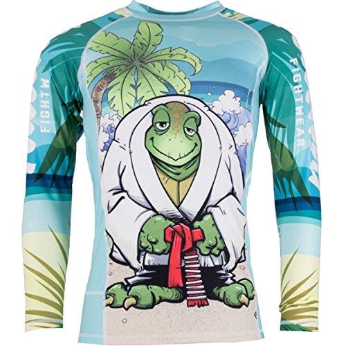 Tatami Turtle Guard Long Sleeve BJJ Rashguard - Large