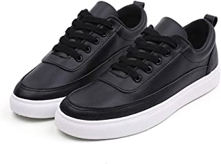 High end White Flat Shoes Men Casual Shoes Lace-up Breathable Classic Flat Tenis Masculino