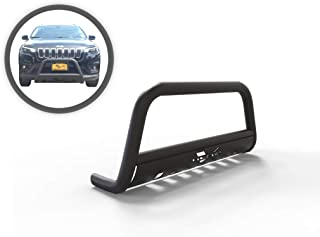 VGUBG-1182BK Black Classic Bull Bar compatible with 14-19 Jeep Cherokee