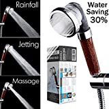 Filtered Hand Held Shower Head Filtration System Help Reduces Hair...