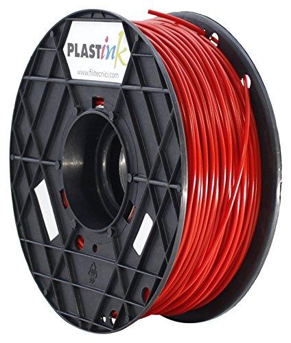 Plastink PLA300RD1 Filamento per Stampante 3D in PLA, Diametro 3 mm, Rosso