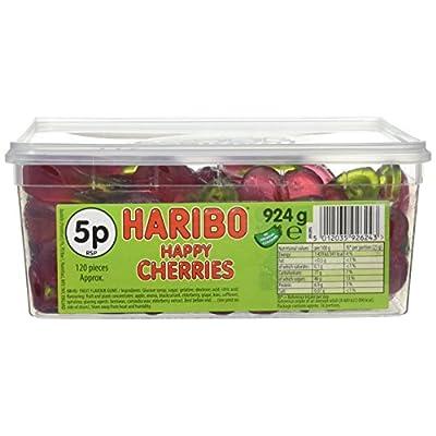 haribo happy cherries - cherry flavoured sweets - full tub HARIBO HAPPY CHERRIES – CHERRY FLAVOURED SWEETS – FULL TUB 51hJTi4iSoL