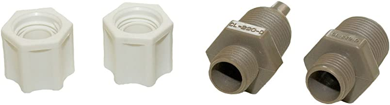 Hayward CLX220EA CL 200 Series Pool Chemical Feeder Check Valve and Inlet Fitting Adapter Assembly
