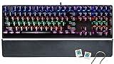 CHONCHOW RGB LED Backlit Mechanical Gaming...