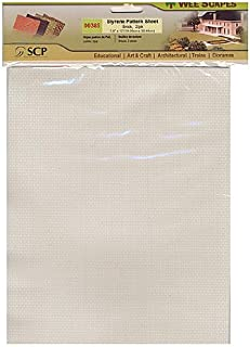 Wee Scapes Architectural Model Texture Sheets brick 7 1/2 in. x 12 in. pack of 2