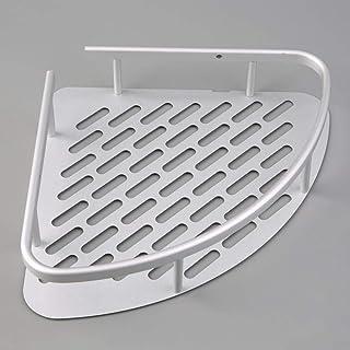 1 pièces en aluminium support mural de douche étagère d'angle support organisateur de rangement de salle de bains Kit ense...