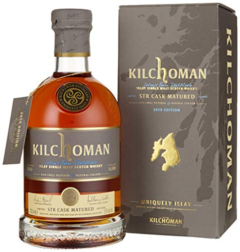 Kilchoman STR CASK Matured Islay Single Malt Scotch Whisky 2019 (1 x 0.7 L)