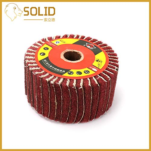 Best Price Xucus Abrasive Grinding Flap Wheel Fiber Flap Discs Bore 20mm for Angle Grinder Polishing...
