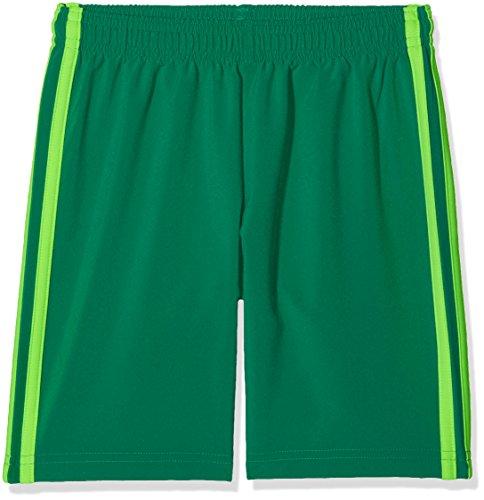 adidas Kinder Condivo 18 Kurze Traningshose, Bold Green/Solar Green, 128
