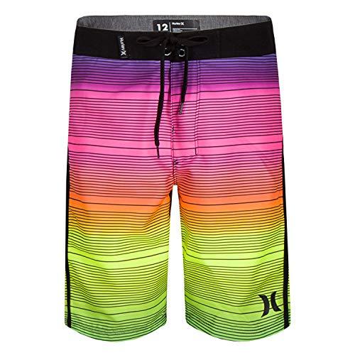 Hurley Boys' Big Board Shorts, Multi Shoreline, 10