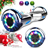 RCB Scooter Elettrico 6.5 inch con LED Bluetooth su ruote brillante...
