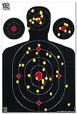 shooting targets idpa - Big Dawg Targets 25 Pack - 12 X 18 Inch Silhouette Reactive Splatter Shooting Target