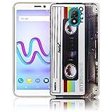 Wiko Lenny 5 Cassette Retro Silicone Protective Case
