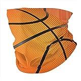 Basketball Print Men's Woman's Seamless Scarf Balaclava Mask-Neck Gaiter Face Cover Mask Sunscreen UV Protection for Training Reusable