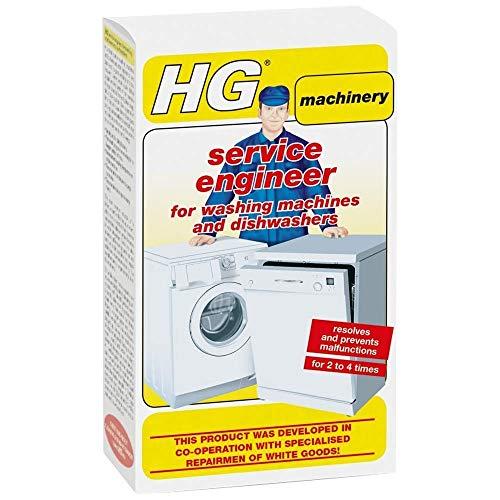 HG Service Engineer Entkalker für Geschirrspüler und Waschmaschine, 200 g 1 Packung