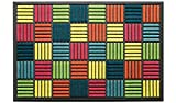 LAKO - Felpudo sintético 60 x 90 x 0,9