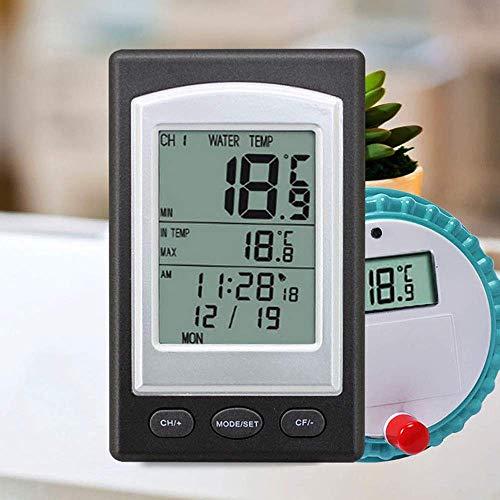 ZWFS Thermometer Wireless Digital Pool Thermometer Spa SPA Temperatuurweergave Huishoudelijke Aquarium Bad Temperatuurmeter