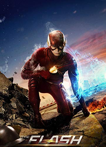 14inch x 19inch/35cm x 48cm The Flash Season 3 Silk Poster