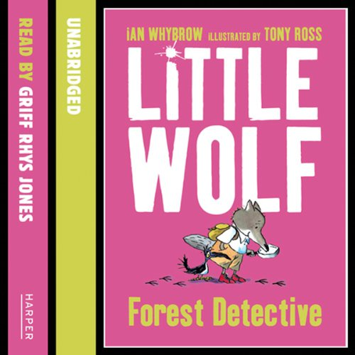 Little Wolf, Forest Detective audiobook cover art