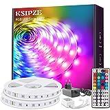 KSIPZE LED Strip 20m RGB Farbwechsel LED Lichterkette...