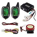 Best Motorcycle Alarm Systems - EASYGUARD EM208-2 2 Way LCD Display Motorcycle Alarm Review
