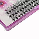 Dedila 8/10/12/14/16mm 60pcs 20 Root Grafting Individual False Eyelashes Mink Natural Long Eye Lashes Cluster Extension Makeup Beauty Fake Eyelash(14mm)