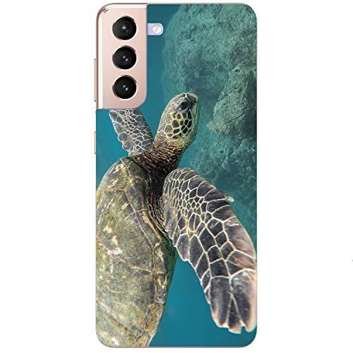 Generisch Funda blanda para teléfono móvil, diseño de tortuga para Samsung Apple, Huawei Honor Nokia One Plus Oppo ZTE Xiaomi Google, tamaño: Nokia 1