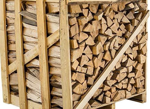 Brennholz Buchenholz trocken Kaminholz 1 Raummeter Palette, Heizen ca. 33 cm Holzscheit Länge