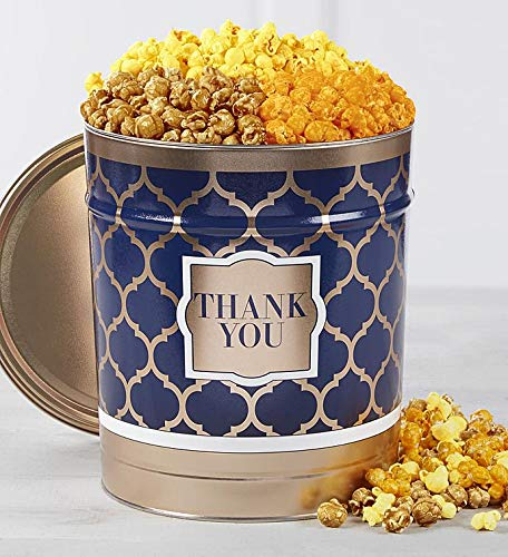 The Popcorn Factory Shining Sentiments Thank You Tin