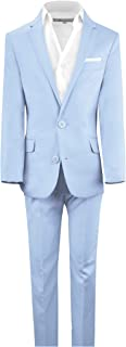 Black n Bianco Boys' First Class Slim Fit Suits Lightweight Style. Presented by Baby Muffin