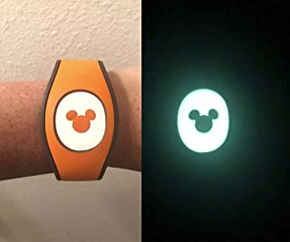 Glow in the Dark Puck Decal for the Disney Magic Band 2 | MagicBand 2.0 Decal | Magic Band Cover