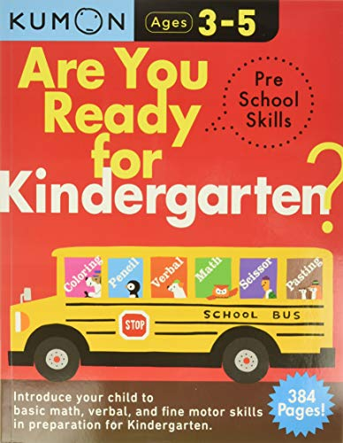 Compare Textbook Prices for Are You Ready for Kindergarten Preschool Skills Arkw Workbook Edition ISBN 9780998921976 by Kumon Publishing,Kumon