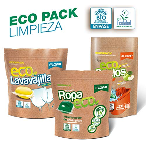 Flopp - Pack Limpieza Ecológica Cápsulas Hidrosolubles