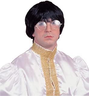 Forum Novelties Costume Culture 60's Mod Wig Deluxe, Black, One Size