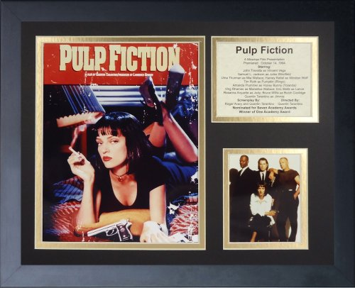 Legends Never Die 'Pulp Fiction II Framed Photo Collage, 11 x 14-Inch