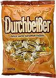 Durchbeisser Karamell – Weiches Toffee mit Karamellgeschmack – Leckere Karamellbonbons zum Naschen –