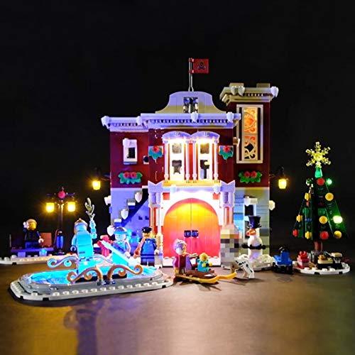 POXL 10263 - Juego de luces LED para estación de bomberos Lego Winter Village