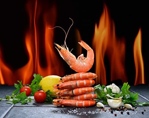 sanzangtang Puzzle 1000 Teile Tomaten, Garnelen, Salz, Meeresfrüchte, Gemüse, Pfeffer, lustiges Persönlichkeitsgeschenk-Puzzle 75x50cm