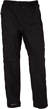 Mountain Warehouse Downpour Womens Trousers -Waterproof Ladies Trousers, Taped Seams Pants, Ankle Zip, Elastic Waistband, Easy to Pack Away -for Travelling & Work