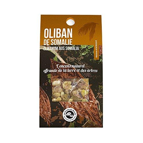 Aromandise OLSOMs Sachet Oliban de Somalie, Extraits de Plantes, Naturel, 2 x 8,4 x 15,5 cm